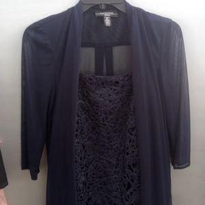 🆕 R&M Richard Beautiful 2 Piece Lacey Dress Set